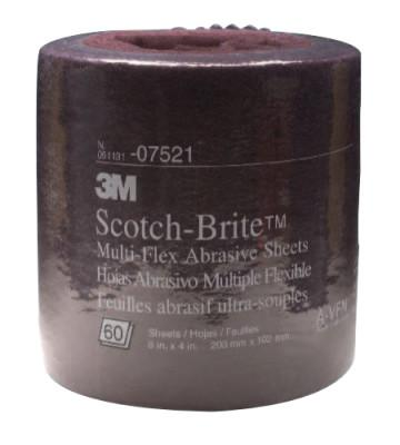 3M 3M Abrasive Scotch-Brite Multi-Flex Sheet Rolls, Aluminum Oxide, Very Fine, 7000120922