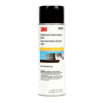 3M Rubberized Undercoating, Black, 19.7 oz Aerosol Can, 7100166585