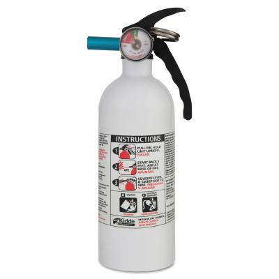 Kidde Automobile Fire Extinguishers, Class B and C Fires, 2 lb, 21006287MTL