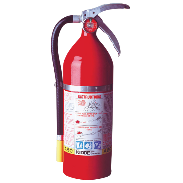 Kidde ProPlus Multi-Purpose Dry Chemical Fire Extinguishers - ABC Type - AMMC - 1