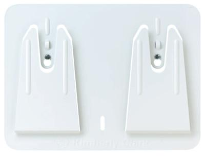 Kimberly-Clark Professional Access Wall Mount Wiper Dispensers, Wall, Steel, White, 73900