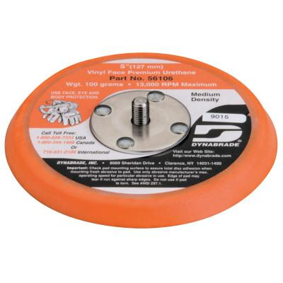 Dynabrade® Non-Vacuum Disc Pad, 5 in x 5/16 in - 24, Black, 415-56106