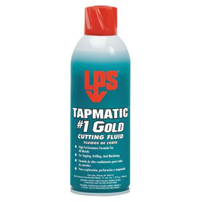 ITW Pro Brands Tapmatic #1 Gold Cutting Fluids, 11 wt oz, Aerosol Can, 40312