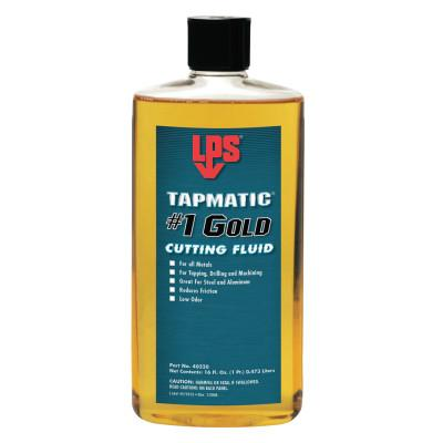 ITW Pro Brands Tapmatic #1 Gold Cutting Fluids, 16 fl oz, Bottle, 40320