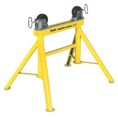 Sumner Lo Adjust-A-Roll Stands, 2,000 lb Cap., 1/2 in-36 in Pipe, 24 in H, 780370
