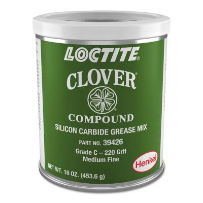 Loctite CloverSilicon Carbide Grease Mix, 1 lb, Can, 220 Grit, 232922