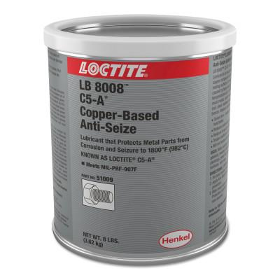 Loctite C5-A Copper Based Anti-Seize Lubricant, 8 lb Can, 234207