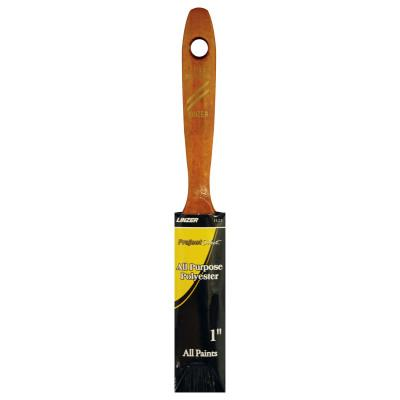 Linzer Latex Paint Brushes, 1/2 in thick, 2 1/4 in trim, Polyester, Walnut Wood handle, 1123-1.5