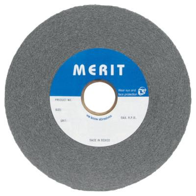 Merit Abrasives Deburring/Finish Convolute Wheels, 7-AM, 8X1X3, Medium, 4500 rpm, Aluminum Oxide, 5539512535