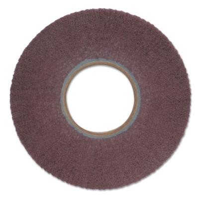 Merit Abrasives Non-Woven Flap Wheels with Arbor Hole Mount, 6 in, 120 Grit, 3,000 rpm, 5539512667