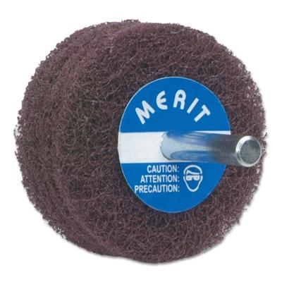 Merit Abrasives Abrasotex Disc Wheels, 3 in Dia., 8834131496