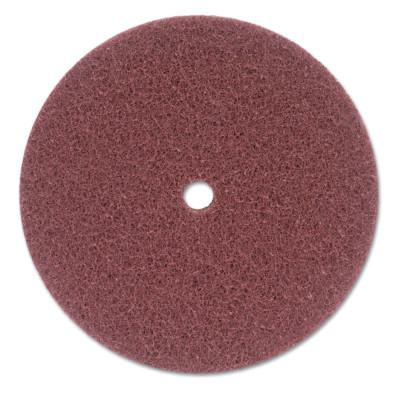 Merit Abrasives High Strength Buffing Discs, 8 in, Very Fine, 8834162413