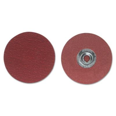 Merit Abrasives Ultra Ceramic Plus PowerLock Cloth Discs-Type II, 2 in Dia., 50 Grit, 8834163259