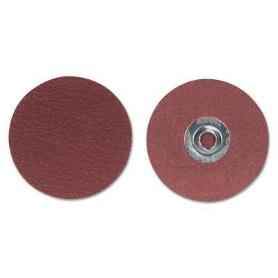 Merit Abrasives Ultra Ceramic Plus PowerLock Cloth Discs-Type II, 2 in Dia., 80 Grit, 8834163381