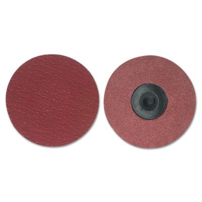 Merit Abrasives Ultra Ceramic Plus PowerLock Cloth Discs-Type III, 2 in Dia., 60 Grit, 8834163412