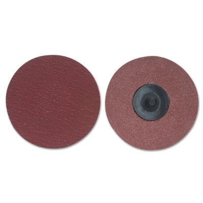 Merit Abrasives Ultra Ceramic Plus PowerLock Cloth Discs-Type III, 3 in Dia., 60 Grit, 8834163415