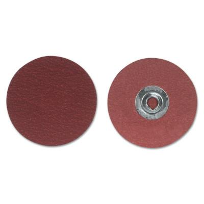 Merit Abrasives Ultra Ceramic Plus PowerLock Cloth Discs-Type II, 2 in Dia., 60 Grit, 8834163551