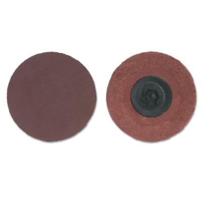 Merit Abrasives ALO FlexEdge Cloth Discs-Type I, Aluminum Oxide, 2 in Dia., 180 Grit, 8834164339
