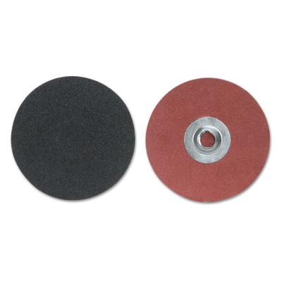 Merit Abrasives Silicon Carbide Cloth Discs-Type II, Silicon Carbide, 2 in Dia., 80 Grit, 8834165255