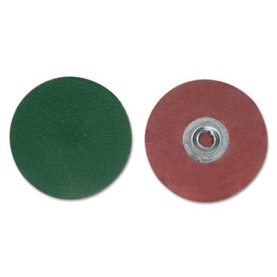 Merit Abrasives Zenith Ceramic Disc-Type III, Ceramic Alumina, 2 in Dia., 60 Grit, 8834166044