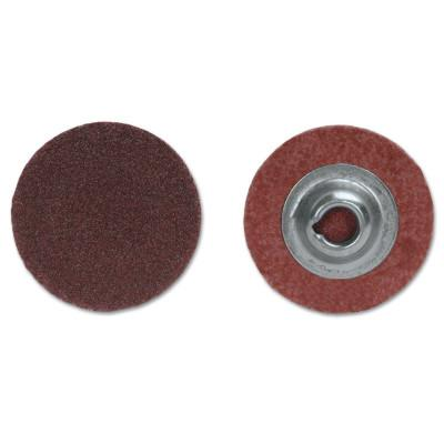 Merit Abrasives ALO Plus PowerLock Cloth Discs-Type II, 1 in x 3 in, 80 Grit, Aluminum Oxide, 8834166900