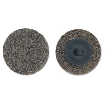Merit Abrasives Deburring and Finishing Button Mount Wheels Type lll, 2 x 1/4, Medium, 66261054185