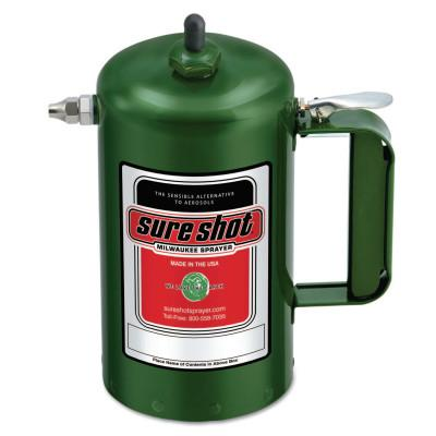 Milwaukee Sprayer Sure Shot Sprayers, 1 qt, Steel, Green, 1000G