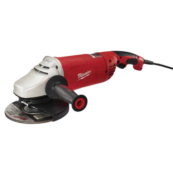 "Milwaukee 6088-30 7""/9"" 15 Amp Large Angle Grinder with Lock-On - AMMC"