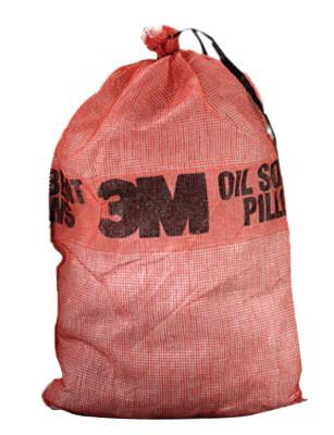 3M Petroleum Sorbent Pillows, Absorbs 3.5 gal, 24.38 in x 27.46 in, 7100003891