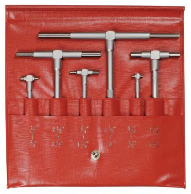 Mitutoyo 5/16 to 6 in Telescoping Gage Set, 6 Piece Set; Telescoping Gage Set, 155-903