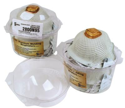 Moldex HandyStrap Respirator Locker, Vapor Filter, M/L, 4/dispenser, 2850