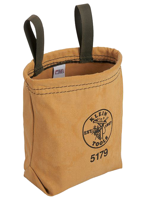 klein tools 5179s canvas tool pouch - ammc