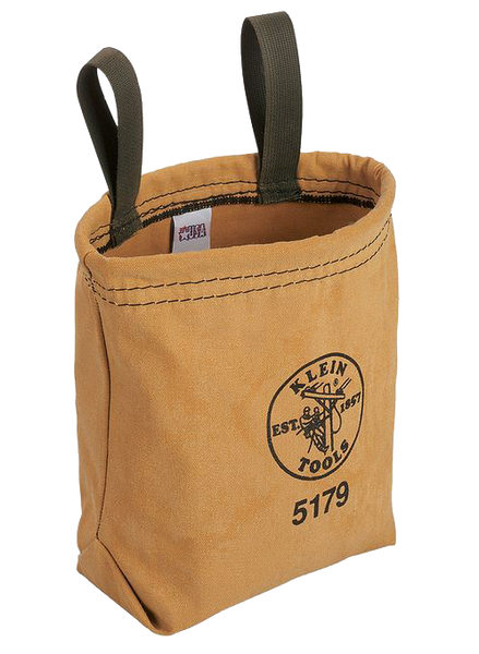 Klein Tools 5179S Water Repellant Canvas Tool Pouch - AMMC