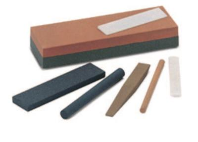 Norton Square Abrasive File Sharpening Stones, 4 X 1/2, Medium, Crystolon, 61463686040