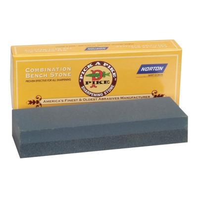 Norton Combination Grit Abrasive Sharpening Benchstones,6x2x1, Coarse/Fine, Crystolon, 61463685450
