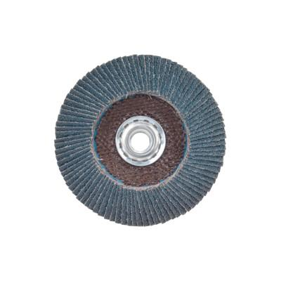 Norton Flap Discs R822, 4 1/2 in, 40 Grit, 5/8 in Arbor, 13,000 rpm, 63642503511