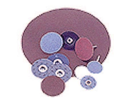 Norton Metalite Small Coated-Cloth PSA Discs, Aluminum Oxide, 2 in Dia., 80 Grit, 66261136520