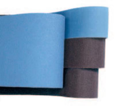 Norton Metalite Benchstand Coated-Cotton Belts, 6 in x 48 in, 120, Aluminum Oxide, 78072722560