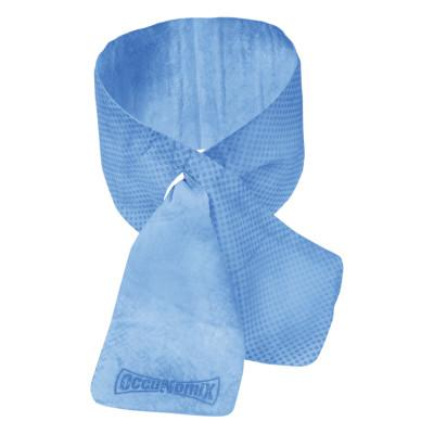 OccuNomix MiraCool Cooling Neck Wraps, 4 in X 31.1 in, Blue, 930-BL