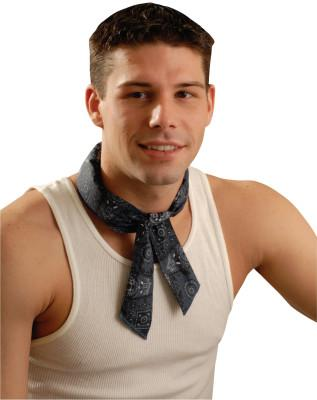 OccuNomix MiraCool Neck Bandanas, 2 in X 34 in, Cowboy Blue, 940-CBL