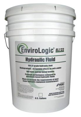 Radiator Specialty Envirologic Hydraulic Oils, 180 °C Flash Pt, 5 gal, Bucket, E012205