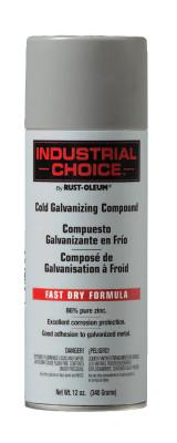 Rust-Oleum® Industrial Industrial Choice 1600 System Galvanizing Compound, 16 oz Aerosol Can, 1685830