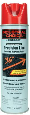 Rust-Oleum® Industrial M1600/M1800 Precision-Line Inverted Marking Paint,17oz, Safety Red, 203029