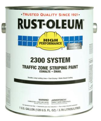 Rust-Oleum® Industrial High Performance 2300 System Inverted Striping Paints, 20oz Aerosol, Black, Flat, 2378838