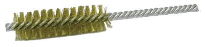 "Weiler® 1/2"" Power Tube Brush, .006 Brass, 2"" B.L. (DS-1/2), 21178"