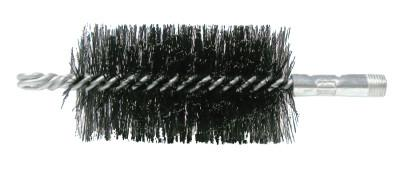 "Weiler® 2-3/4"" Double Spiral Flue Brush, .012 Steel Fill, 44038"