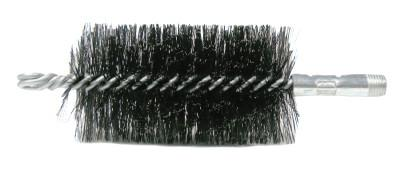 "Weiler® 4-7/8"" Double Spiral Flue Brush, .012 Steel, 44159"
