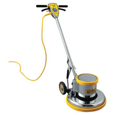 "MERCURY FLOOR MACHINES PRO-175-17 Floor Machine, 1.5 HP, 175 RPM, 16"" Brush Diameter, MFMPRO17"