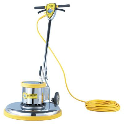 "MERCURY FLOOR MACHINES PRO-175-21 Floor Machine, 1.5 HP, 175 RPM, 20"" Brush Diameter, MFMPRO21"