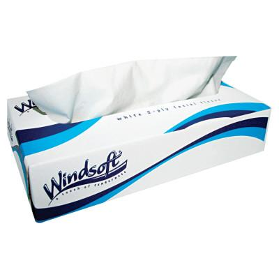 Windsoft® Facial Tissue in Pop-Up Box, 100/Box, WIN2430